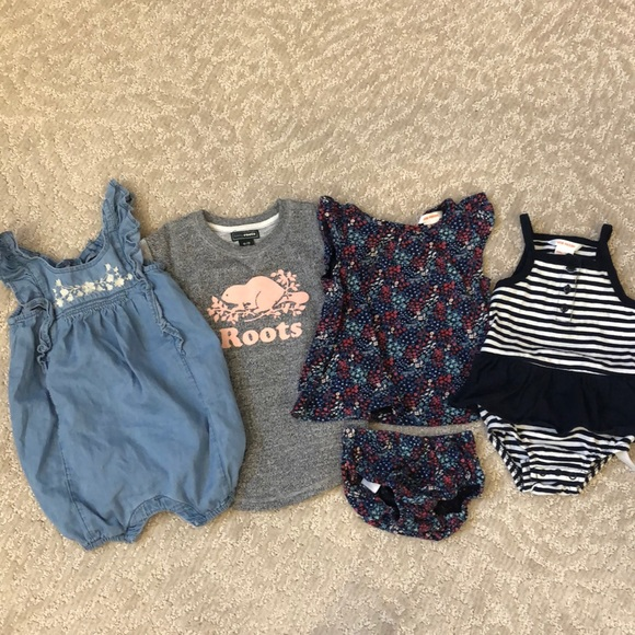 Baby girl summer clothes 6-12 months